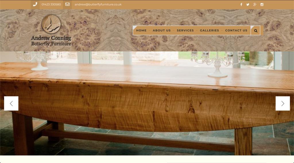 Butterfly Furniture Website