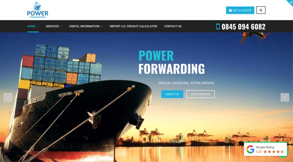 Power Forwarding Website