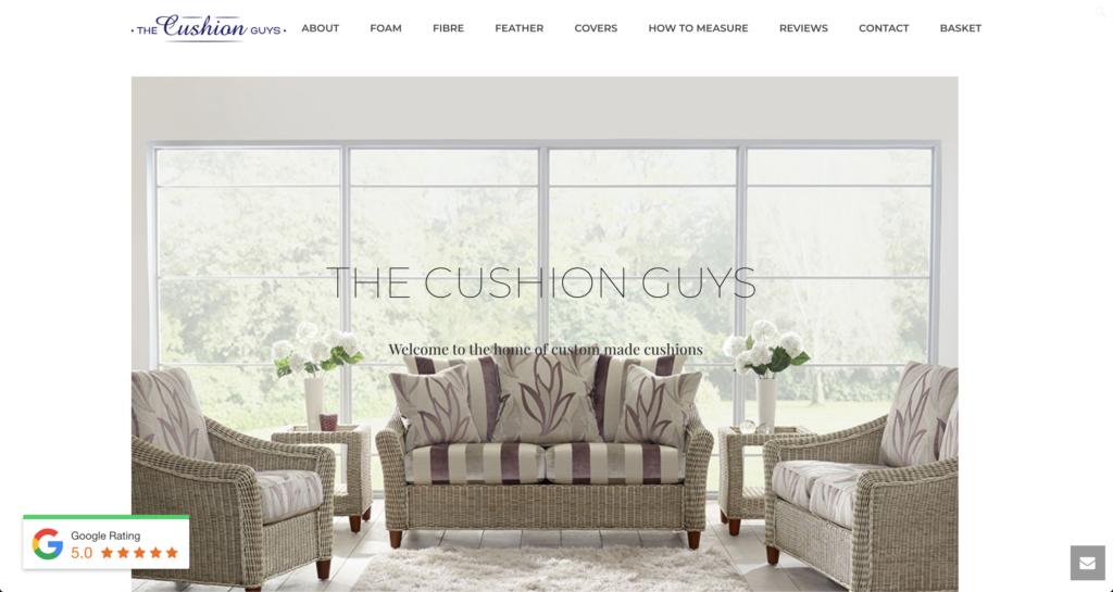 Cushion Guys Website